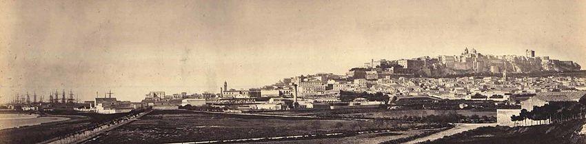 Cagliari seconda metà XIX secolo