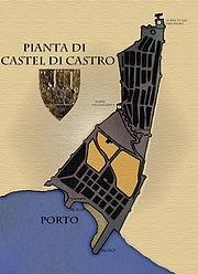pianta Castel Castro