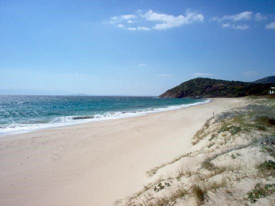 The beach of Geremeas