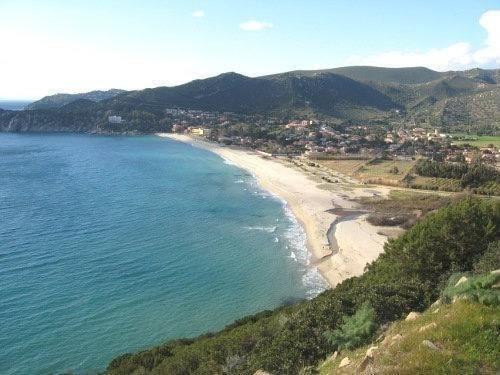 The beach of Solanas